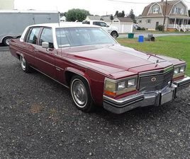 FOR SALE AT AUCTION: 1981 CADILLAC DEVILLE IN CARLISLE, PENNSYLVANIA