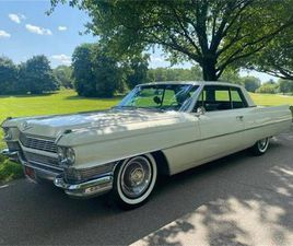 FOR SALE: 1964 CADILLAC COUPE DEVILLE IN CADILLAC, MICHIGAN