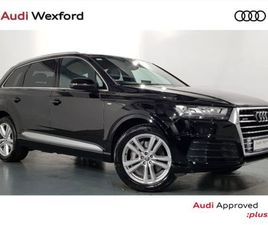 AUDI Q7 S-LINE 3.0TDI 218 QUATTRO TIPTRONIC 652P FOR SALE IN WEXFORD FOR €47,475 ON DONEDE