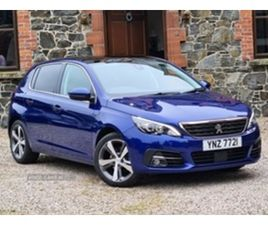 USED 2019 PEUGEOT 308 TECH EDITION HATCHBACK 12,900 MILES IN MAGNETIC BLUE FOR SALE   CARS