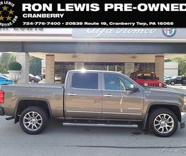 BRONZE COLOR 2014 GMC SIERRA 1500 SLT FOR SALE IN CRANBERRY TOWNSHIP, PA 16066. VIN IS 3GT