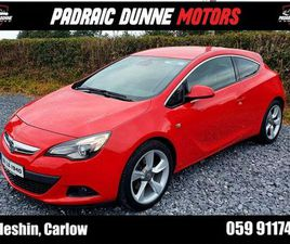 VAUXHALL ASTRA GTC SRI 165BHP FOR SALE IN CARLOW FOR €15,995 ON DONEDEAL