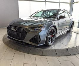 USED 2021 AUDI RS 6 AVANT BANG & OLUFSEN   360 CAMERAS   NO ACCIDENTS   LOW KMS!