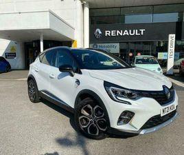 2021 RENAULT CAPTUR 1.6 E-TECH 9.8KWH LAUNCH EDITION AUTO (S/S) 5DR SUV PETROL P