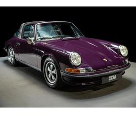 PERIOD CORRECT, MATCHING NUMBERS RHD 2.4E TARGA: 1 OF ONLY 7 UK SUPPLIED 2.4E TARGA'S IN 1