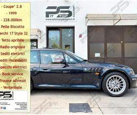BMW Z3 COUPÈ 2.8 192CV - VENTENNALE - TETTO - PELL