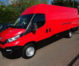 2016 IVECO DAILY S CLASS 2.3TD 35S15V 3000 H1 - £18,000