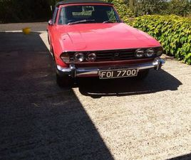 TRIUMPH STAG FOR SALE IN ANTRIM FOR £10,000 ON DONEDEAL