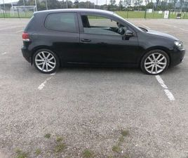 09 VW GOLF MK6 GT SPORT 140BHP FOR SALE IN WEXFORD FOR €4,250 ON DONEDEAL