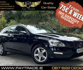 15 VOLVO V60 BUSINESS EDITION ESTATE FINANCE FOR SALE IN TIPPERARY FOR €11,899 ON DONEDEAL