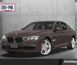 BROWN COLOR 2014 BMW 7 SERIES 750LI XDRIVE FOR SALE IN KATY, TX 77450. VIN IS WBAYF8C5XED1