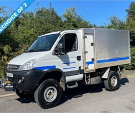 USED 2010 IVECO DAILY 3.0 55S17W 170 BHP MANUAL 4X4 HIGH SIDE TIPPER (IDEAL TREE SURGEON)