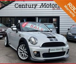 USED 2013 MINI ROADSTER 2.0 COOPER SD 2DR - JCW AERO PACK CONVERTIBLE 62,666 MILES IN SILV