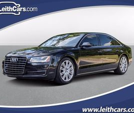 BLACK COLOR 2015 AUDI A8 L FOR SALE IN RALEIGH, NC 27616. VIN IS WAU3GAFD2FN006478. MILEAG