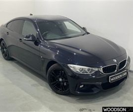 USED 2015 BMW 4 SERIES 2.0 420D XDRIVE M SPORT GRAN COUPE 4D 181 BHP COUPE 93,000 MILES IN