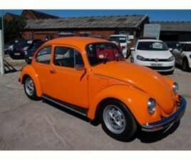 USED 1975 VOLKSWAGEN BEETLE CLASSIC 1.3 1300 PROJECT NOT SPECIFIED 4,145 MILES IN ORANGE F