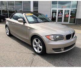2011 BMW 1 SERIES 2DR CABRIOLET 128I