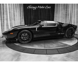 2006 FORD GT COUPE ALL 4 OPTIONS HENNESSEY GT1000 PACKAGE HRE WHEELS! BLACK! STRIPES!