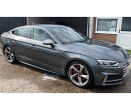 USED 2017 AUDI A5 S5 SPORTBACK TFSI QUATTRO HATCHBACK 34,000 MILES IN GREY FOR SALE | CARS