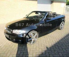 BMW BAUREIHE 1 CABRIO 125I,M SPORT,LEDER,1HAND,TOP