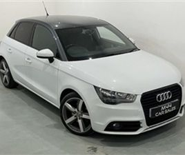 USED 2012 AUDI A1 2.0 SPORTBACK TDI SPORT 5D 141 BHP HATCHBACK 77,000 MILES IN WHITE FOR S