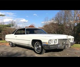 FOR SALE: 1972 CADILLAC COUPE DEVILLE IN HARPERS FERRY, WEST VIRGINIA