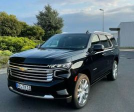 CHEVROLET CHEVROLET TAHOE HIGH COUNTRY MY21 SOFORT