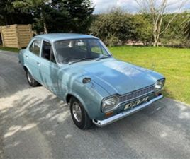 USED 1970 FORD ESCORT 1.3 1300 4D SALOON 23,079 MILES IN BLUE FOR SALE | CARSITE