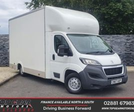 USED 2017 PEUGEOT BOXER 2.0 BLUE HDI 130 BHP 335 L3 BOX BODY **NO VAT** NOT SPECIFIED 97,0