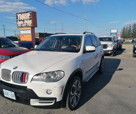 USED 2008 BMW X5 4.8I*WHEELS*NO ACCIDENTS*BROWN LEATHER*AS IS