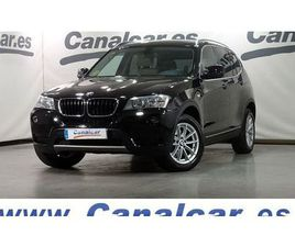BMW X3 XDRIVE 20DA 4X4, SUV O PICKUP DE SEGUNDA MANO EN MADRID   AUTOCASION