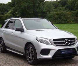 MERCEDES-BENZ GLE CLASS 3.0 GLE43 V6 AMG NIGHT EDITION G-TRONIC 4MATIC (S/S) 5DR