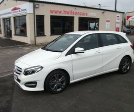 2018 MERCEDES-BENZ B-CLASS 1.6 B180 EXCLUSIVE EDITION (S/S) - £19,995