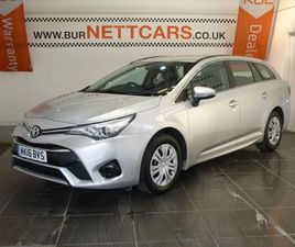 TOYOTA AVENSIS 1.6 D-4D ACTIVE TOURING SPORTS (S/S) 5DR