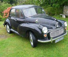 MORRIS MINOR CAR 1957 4 DOOR