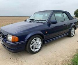 FORD ESCORT SE500 CONVERTIBLE XR3I ONE OF 500 EVER MADE EXCELLENT CONDITION PX??