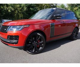 USED 2018 LAND ROVER RANGE ROVER SV AUTOBIOGRAPHY DYNAMIC