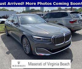 GRAY COLOR 2020 BMW 7 SERIES 750I XDRIVE FOR SALE IN VIRGINIA BEACH, VA 23462. VIN IS WBA7