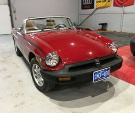1978 MGB WITH OVERDRIVE   CLASSIC CARS   BARRIE   KIJIJI