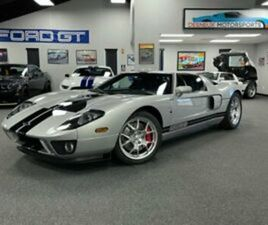 2005 FORD FORD GT FORD GT RARE QUICKSILVER! 1K MILES! ALL 4 OPTIONS!