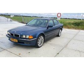 BMW 7ER REIHE 1994 BLAUW -SCHADE RECHTSVOOR-