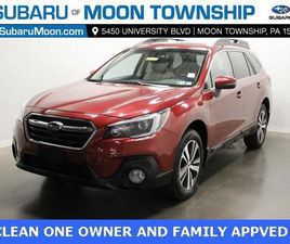 RED COLOR 2018 SUBARU OUTBACK 2.5I LIMITED FOR SALE IN MOON TOWNSHIP, PA 15108. VIN IS 4S4