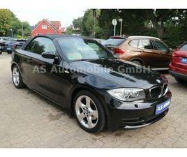 BMW 118I CABRIO *1.HAND/AUTOMATIK/LEDER/XENON/NAVI*
