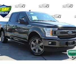 USED 2020 FORD F-150 XLT 302A SPORT CREW CAB 4X4 CERTIFIED