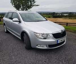 SKODA SUPERB COMBI 2.0 TDI 170 BHP 2012 FOR SALE IN CARLOW FOR €5,500 ON DONEDEAL