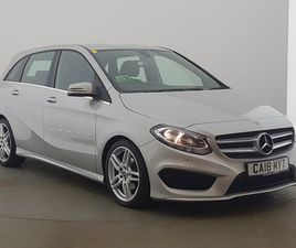 USED 2018 (18) MERCEDES-BENZ B-CLASS B180D AMG LINE EXECUTIVE 5DR AUTO IN GLASGOW