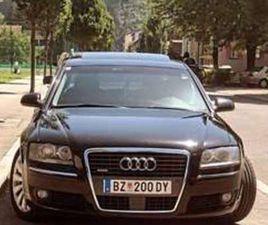 AUDI A8 LIMOUSINE IN SCHWARZ ALS GEBRAUCHTWAGEN IN BLUDENZ FÜR € 13.900,-