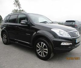 SSANGYONG REXTON 2.0 XDI 2 SEAT AUTO LEATH FOR SALE IN TIPPERARY FOR €12,950 ON DONEDEAL