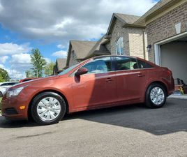 2012 CHEVY CRUSE LT BEAUTIFUL CAR JUST CERTIFIED BY THE BOOK | CARS & TRUCKS | ST. CATHARI