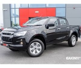 USED 2021 ISUZU D-MAX 1.9 DL20 MANUAL NOT SPECIFIED 1 MILES IN BLACK FOR SALE   CARSITE